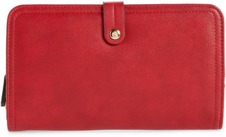 Sole Society Faux Leather Travel Wallet