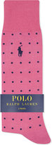 Polo Ralph Lauren Spots & Stripes Cotton Socks Pack Of Two