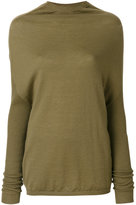 Rick Owens crater knit top