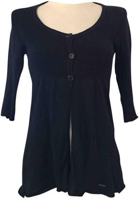 Woolrich Navy Cotton Knitwear for Women