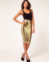 ASOS Pencil Skirt in Sequins