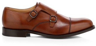 Church's Detroit Monk Strap Leather Shoes