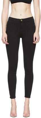 Frame Black Le High Skinny Jeans