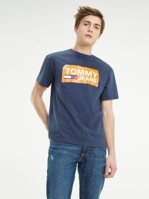 Tommy Hilfiger Scratched Logo Cotton T-Shirt