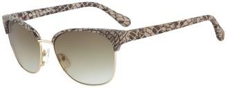 Diane von Furstenberg Zianna 58mm Clubmaster Sunglasses
