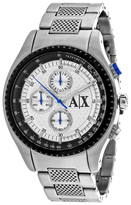 Armani Exchange Classic AX1602 Men's Round SIlver Stainless Steel Watch