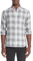 Todd Snyder Men's Plaid Linen Shirt