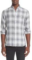 Todd Snyder Plaid Linen Shirt