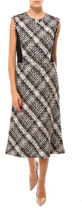 Tory Burch Sleeveless Tweed Pencil Dress