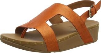 FitFlop Women's H BAR MIA Sandal-Stud WELT Open Toe