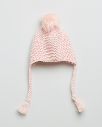 Morgan & Taylor Girl's Pink Beanies - Sierra Mini Beanie - Kids - Size One Size at The Iconic