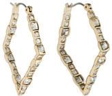Alexis Bittar Crystal Hoop Earrings