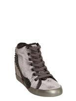 60mm Velvet Pump Print Sneakers