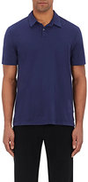 James Perse Men's Washington Cotton Polo Shirt-BLUE