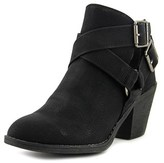 Blowfish Spins Women Round Toe Synthetic Black Bootie.