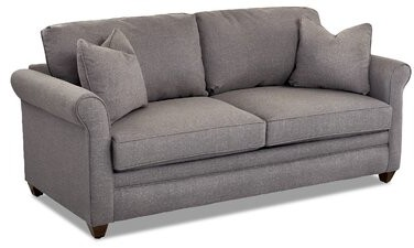 """Thumbnail for your product : Winston Porter Zac 79"""" Round Arm Sofa Bed"""