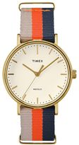 Timex Women's Fairfield Striped Watch - TW2P91600JT