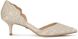 Badgley Mischka Gigi kitten heels