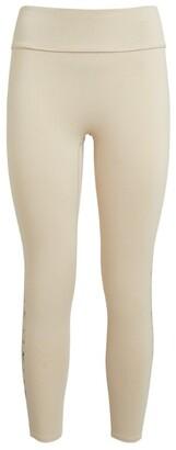 Reebok x Victoria Beckham Cropped Logo Tape Leggings