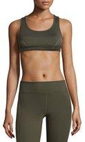 Koral Activewear Force Racerback Versatility Sports Bra, Military Green