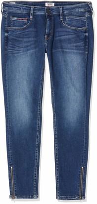 Tommy Jeans Women's LOW RSE SKNY SCARLETT 7/8 ZP ORM Straight Jeans