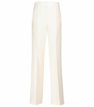 Dorothee Schumacher Sophisticated Perfection crepe flared pants