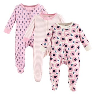 Touched by Nature Organic Sleep N Play, 3pk (Baby Girls)