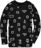JCPenney Total Girl Foil-Accented Sweatshirt - Girls 7-16 and Plus