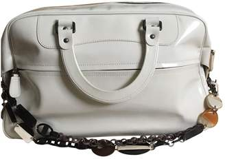 Marni White Patent leather Handbags