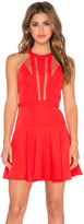 BCBGMAXAZRIA Halter Mini Dress