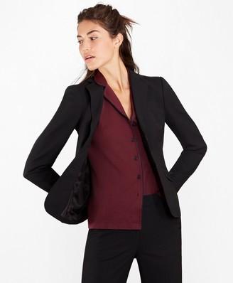 Brooks Brothers Checked BrooksCool Merino Wool Jacket