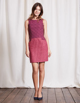 Boden Jacquard & Tweed Shift