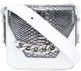 Thomas Wylde snakeskin detail crossbody bag - women - Calf Leather - One Size