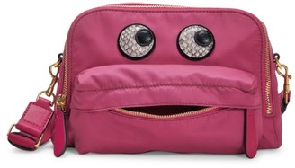 Anya Hindmarch Eyes Nylon Crossbody Bag