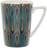 Biba Teal Deco Mug