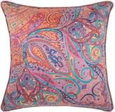 Etro Holloway Paisley Cushion(45cm x 45cm), Purple