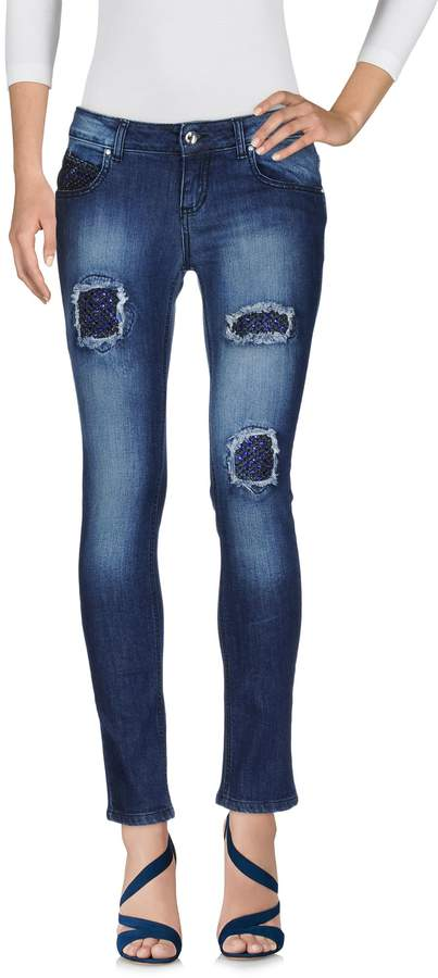 Ean 13 Denim pants - Item 42594448DN