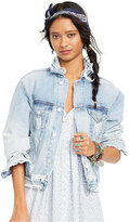 Denim & Supply Ralph Lauren Distressed Trucker Jacket