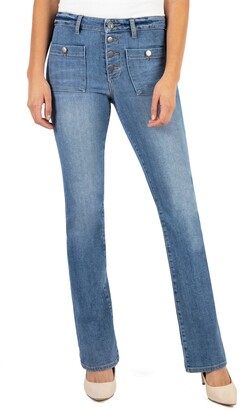 KUT from the Kloth Stella High Waist Flare Jeans