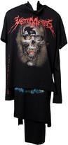 Vetements Graphic Layered T-Shirt Dress