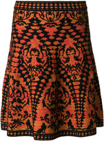 M Missoni woven A-line skirt