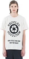 Yang Li Men's Occultism Crew Neck T-shirt In Off White