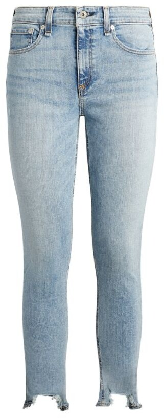 Thumbnail for your product : Rag & Bone Cate Mid-Rise Skinny Ankle Jeans