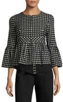 Nanette Lepore Check In Jacket