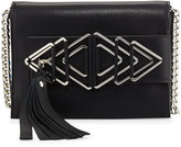 Elena Ghisellini Nina Sensua Mini Crossbody Bag, Black