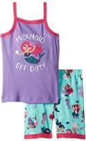 Hatley Underwater Kingdom Sleeveless Pajama Set Girl's Pajama Sets