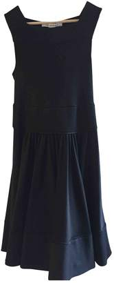 Diane von Furstenberg Black Wool Dress for Women