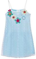 Pate De Sable Flower Crochet Applique Sundress