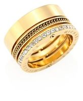 Michael Kors Brilliance Pave Barrel Ring