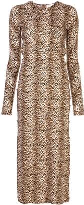 MARCIA Leopard Print Dress